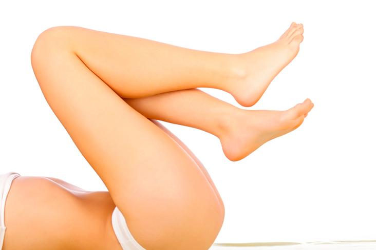 pernas saudáveis feminina