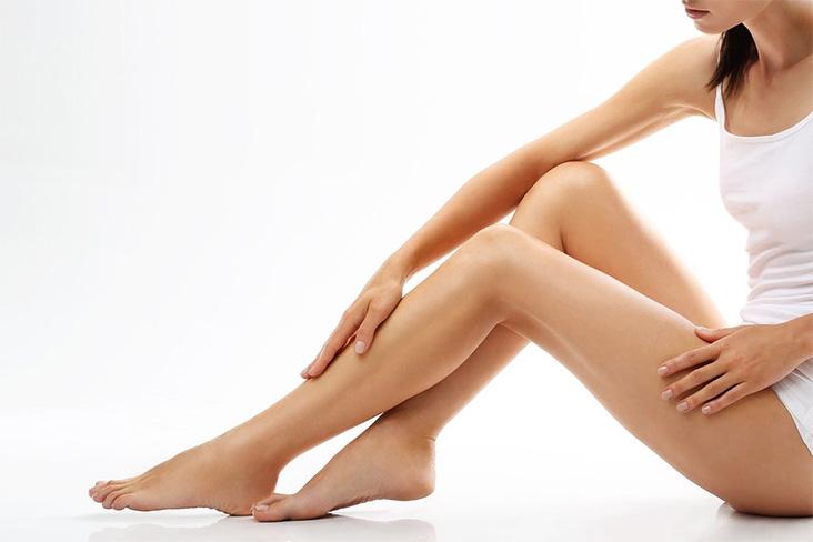Mulher perna